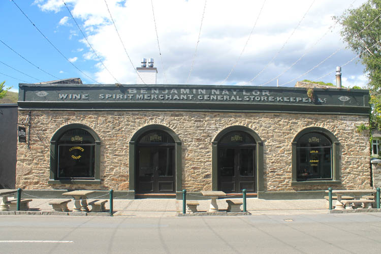 Clyde travel guide, Central Otago, New Zealand -- an old gold mining store