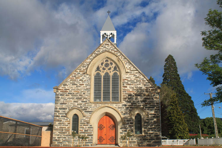 Cromwell travel guide, New Zealand: An historic church