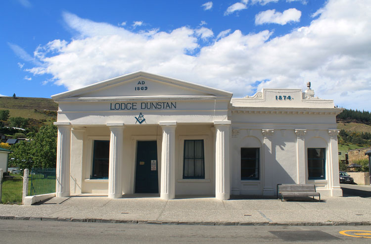 Clyde travel guide, Central Otago, New Zealand -- an historic building