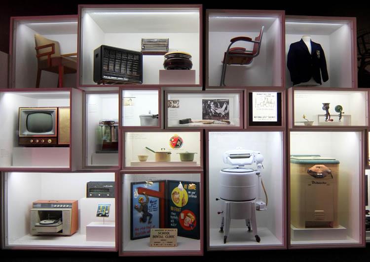 Toitu Otago Settlers Museum, Dunedin, New Zealand -- retro appliances