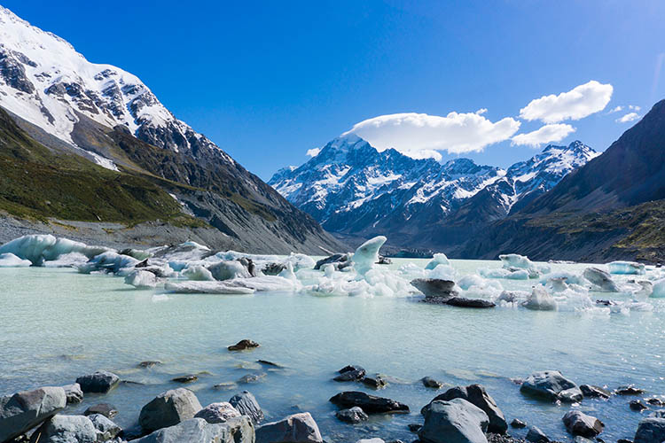 Hiking the Hooker Valley Track, Mount Cook National Park