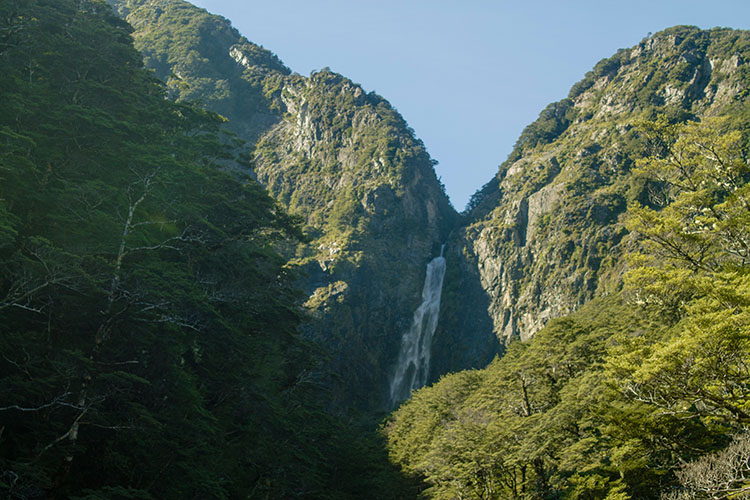 Hiking to Devil's Punchbowl Falls, Arthur's Pass National Park
