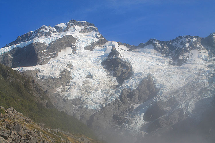 Mount Sefton from the Kea Point Track, New Zealand
