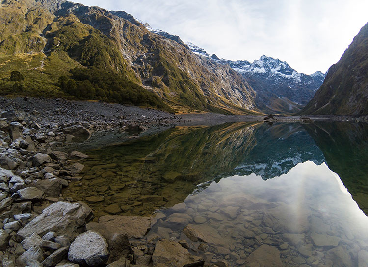 The Lake Marian hike, Fiordland National Park, New Zealand