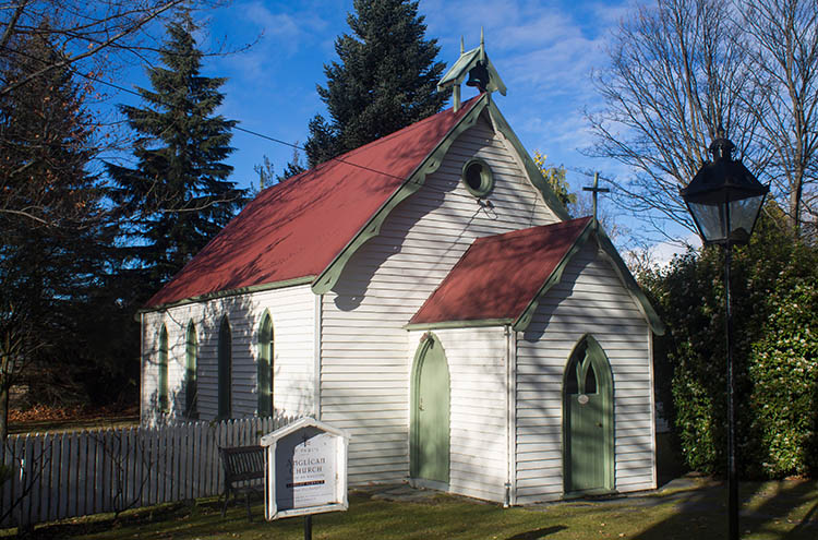St Paul's Anglican Church in Arrowtown, New Zealand