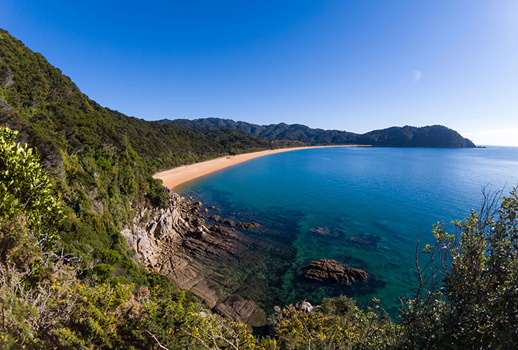 Skinner Point, on the way to Goat Bay, Abel Tasman National Park, New Zealand