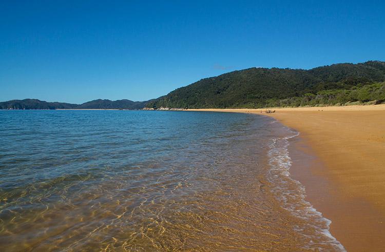 Camping at Totaranui Beach, Abel Tasman National Park