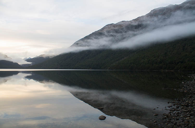 The Lake Gunn Nature Reserve walk, Fiordland National Park, New Zealand