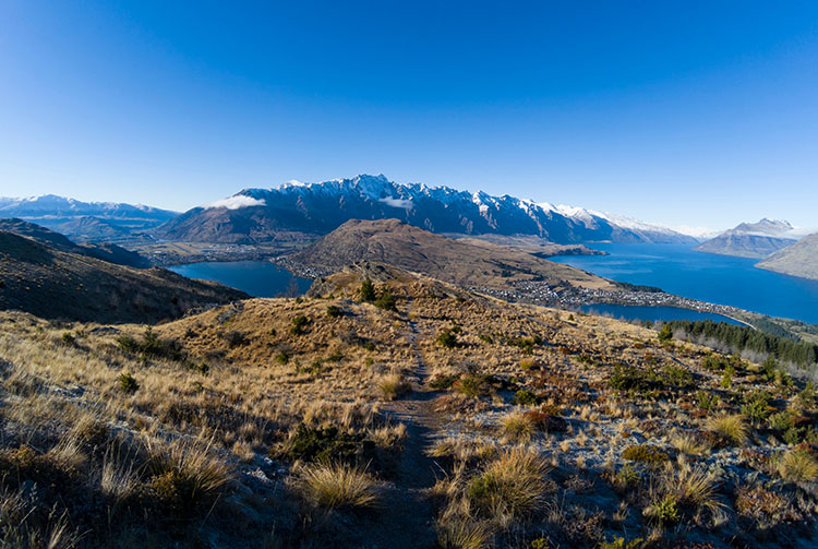 The Queenstown Hill Track, New Zealand