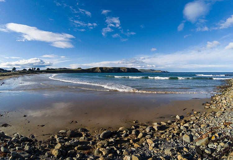 Jack's Bay beach, the Catlins, New Zealand