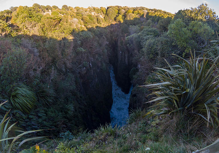 Jack's Blowhole, Jack's Bay, the Catlins, New Zealand
