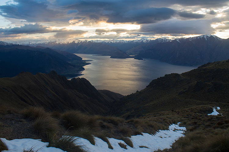 Hiking the Isthmus Peak Track, Wanaka, New Zealand