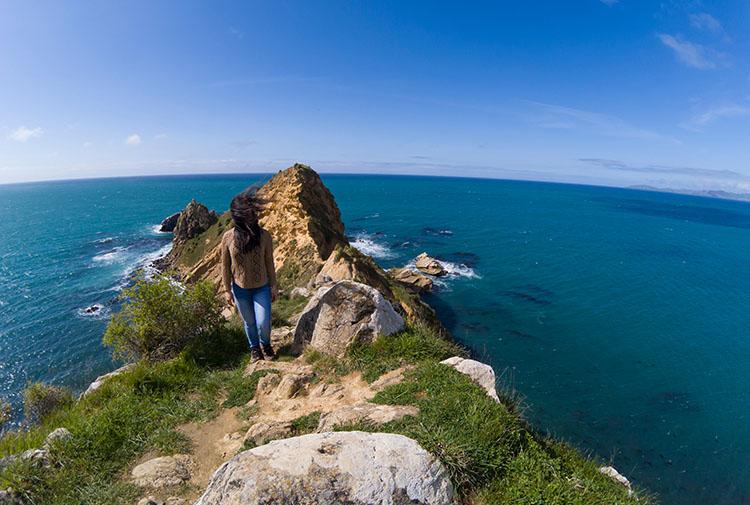 Hiking the Huriawa Peninsula, Karitane, Dunedin, New Zealand