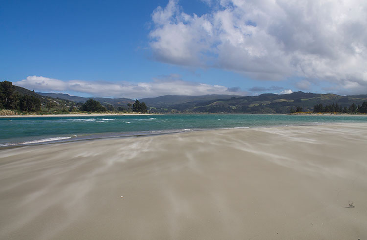 Warrington Beach, Dunedin, New Zealand