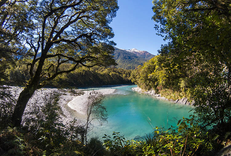 The Blue Pools Track, Wanaka, New Zealand