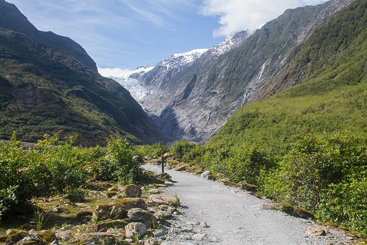 Hiking the Franz Josef Glacier Track, West Coast, New Zealand