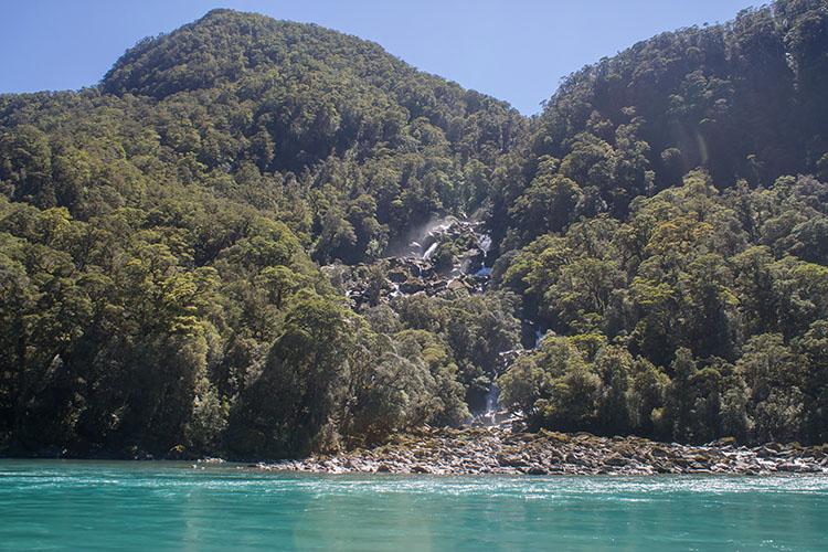 Roaring Billy Falls, Mount Aspiring National Park, New Zealand