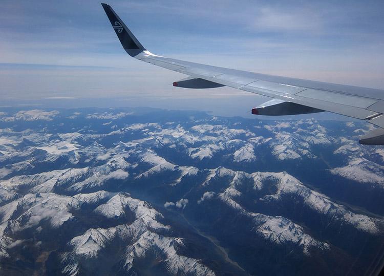Airport Near South Island New Zealand