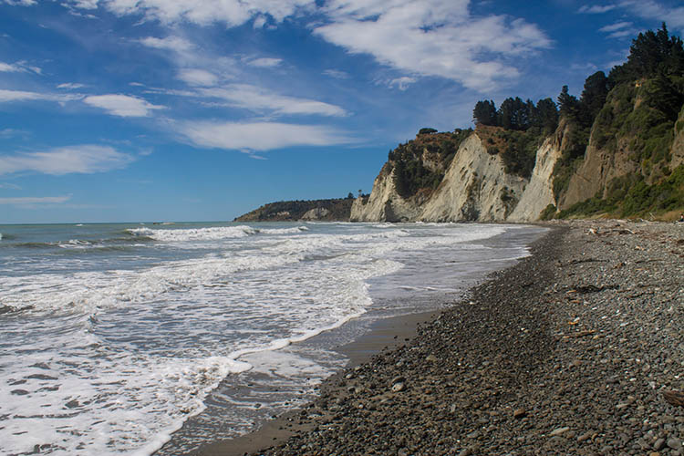Gore Bay, North Canterbury, New Zealand