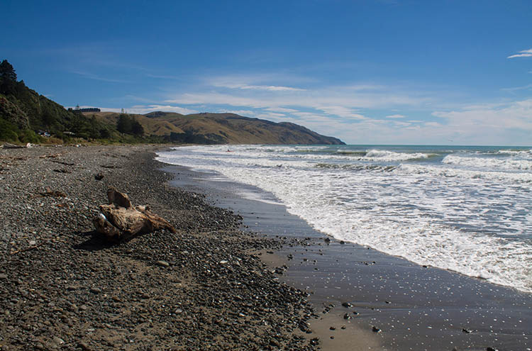 Gore Bay Beach, North Canterbury, New Zealand