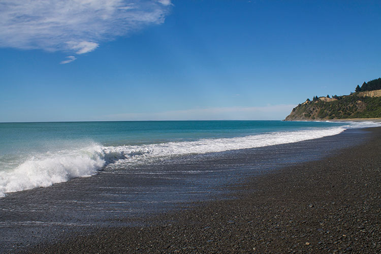Manuka Bay beach, North Canterbury, New Zealand