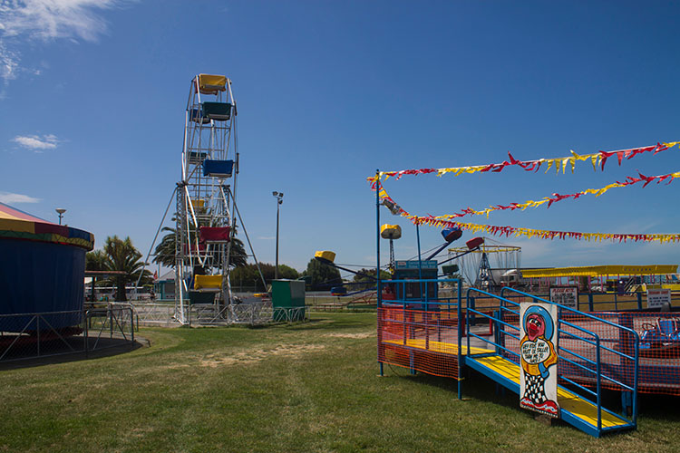 Caroline Bay summer fair, Timaru, New Zealand