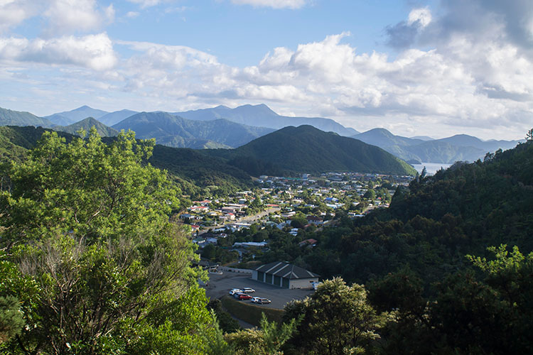 Hiking the Tirohanga Track, Picton, New Zealand