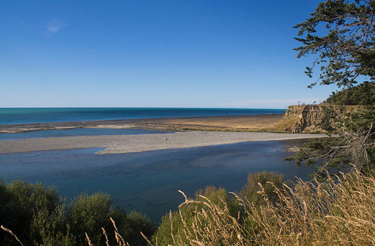 Hurunui Mouth view, North Canterbury, New Zealand