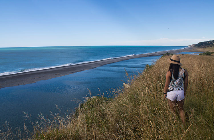Hurunui Mouth viewpoint, North Canterbury, New Zealand