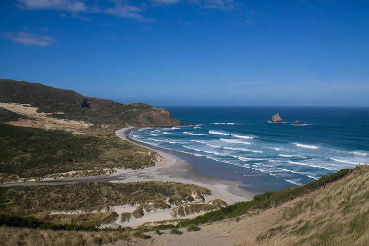 Sandfly Bay Viewpoint, Dunedin, New Zealand