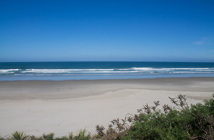 Victory Beach hike, Dunedin, New Zealand