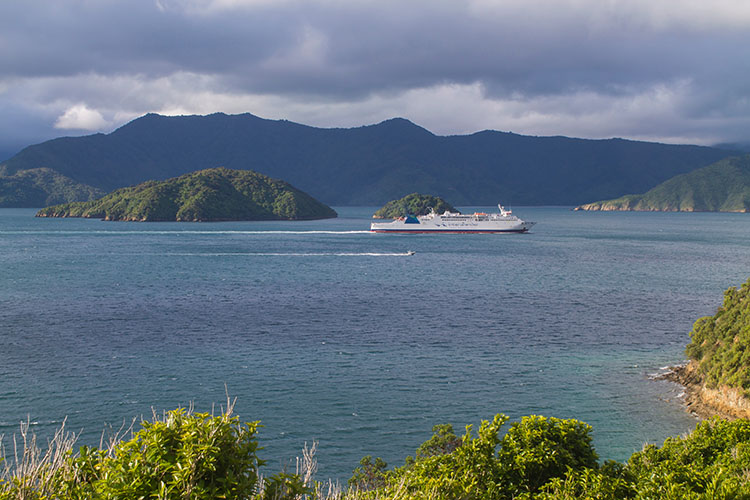 Karaka Point viewpoint, Picton, Marlborough Sounds, New Zealand