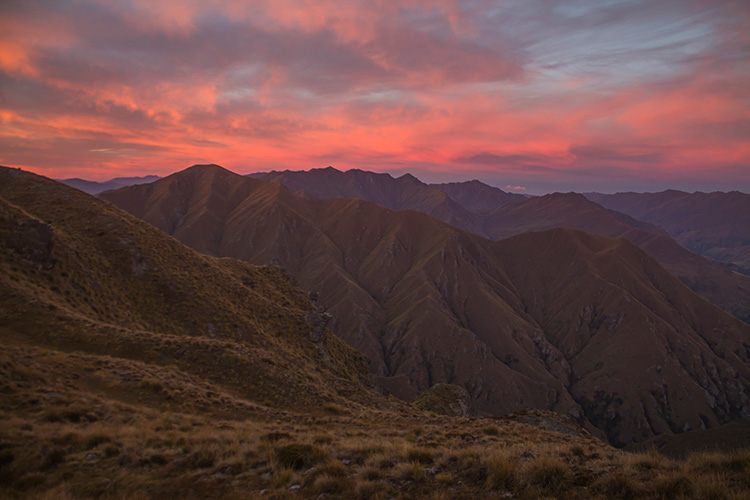 Sunrise at Roys Peak, Wanaka, New Zealand