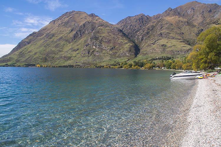 Glendhu Bay, Wanaka, New Zealand