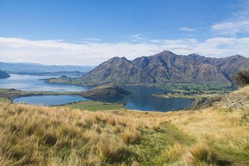 Hiking Rocky Mountain, Wanaka, New Zealand
