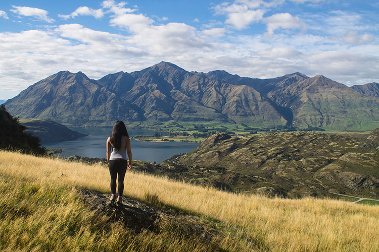 Hiking the Rocky Mountain Track, Wanaka, New Zealand