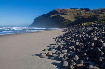 Boulder Beach, Dunedin, New Zealand