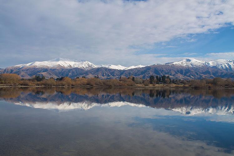 Lake Opuha, New Zealand