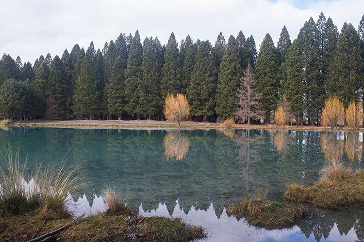 Lake Ruataniwha, Mackenzie Basin, New Zealand