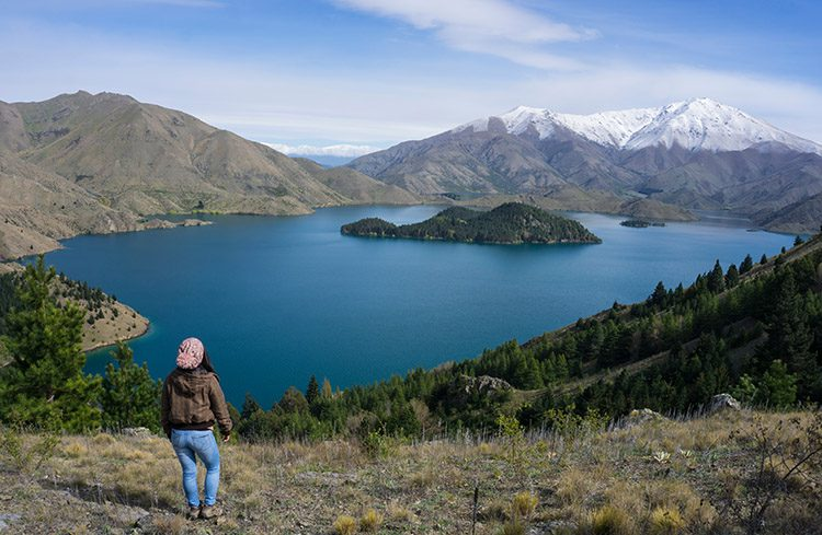 Hiking the Benmore Peninsula Track, Waitaki Valley, New Zealand