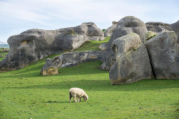 Elephant Rocks, Waitaki Valley, New Zealand