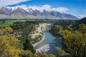 Hiking the Rakaia Gorge Walkway, New Zealand
