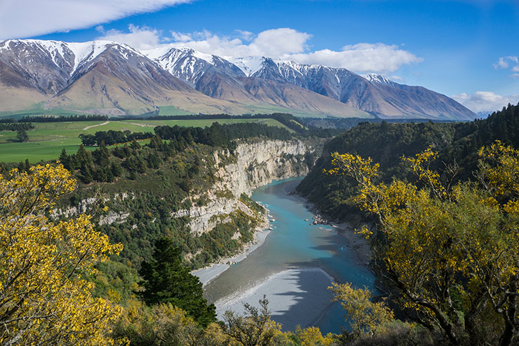 Best of New Zealand - Rakaia Gorge
