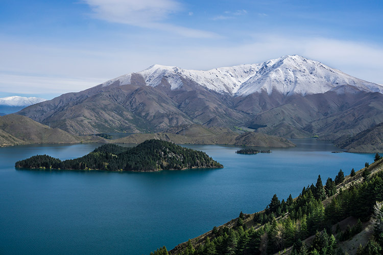 The Benmore Peninsula Track, Waitaki, New Zealand