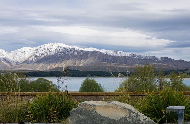 View from Tekapo Springs, New Zealand