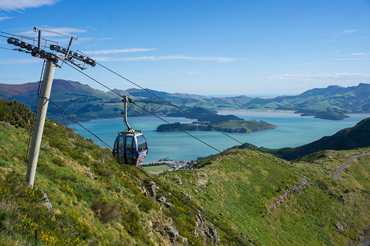Things to do in Christchurch, New Zealand -- Christchurch Gondola