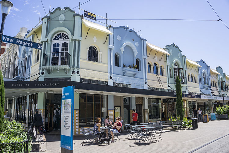 New Regent Street, Christchurch