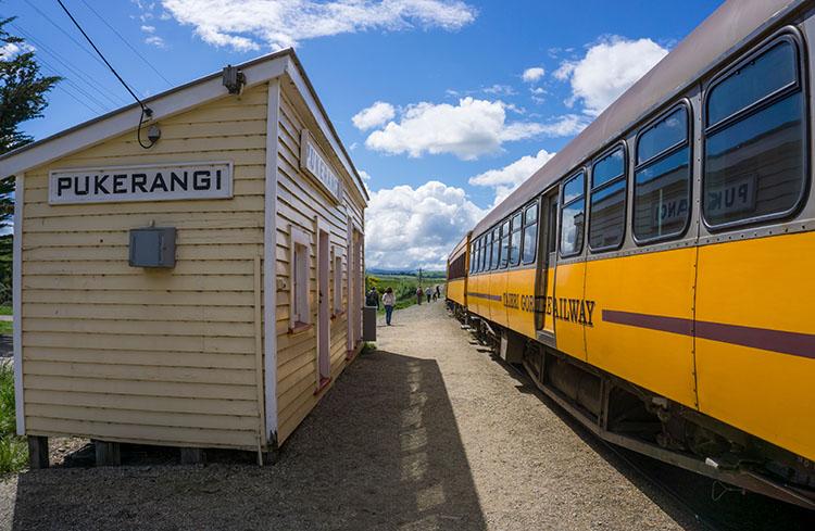 Taieri Gorge Railway -- Pukerangi Station