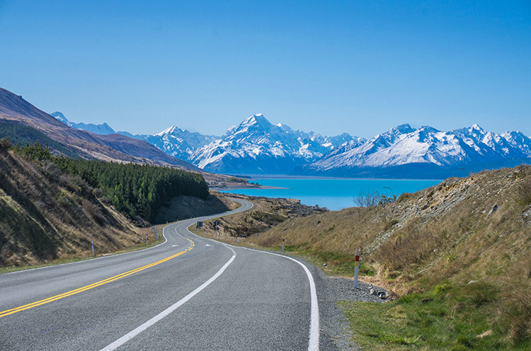 New Zealand's most scenic road...?