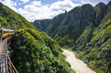 Taieri Gorge Railway, Dunedin, New Zealand